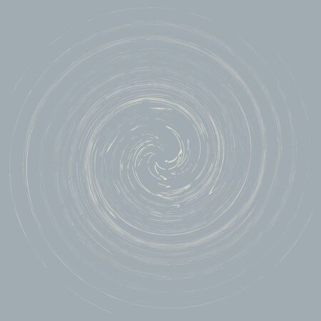 Smudge, smear abstract spiral design element. Swirl, twirl shape. Volute, helix, cochlear illustration Illustration
