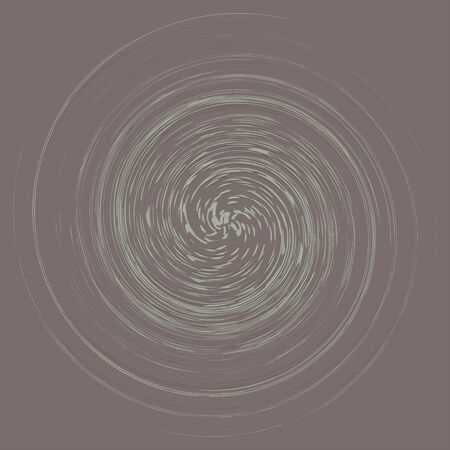 Smudge, smear abstract spiral design element. Swirl, twirl shape. Volute, helix, cochlear illustration Иллюстрация