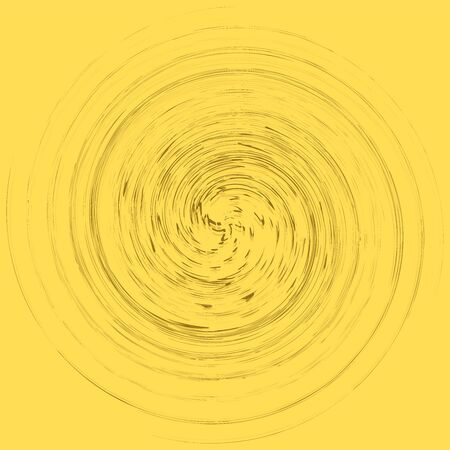 monochrome cyclic, cycle concentric rings. revolved spiral, vortex, whorl. abstract circular, radial loop shape, element Reklamní fotografie - 143834983
