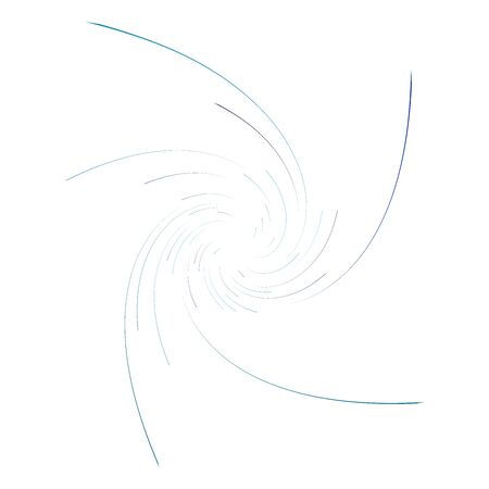 monochrome cyclic, cycle concentric rings. revolved spiral, vortex, whorl. abstract circular, radial loop shape, element