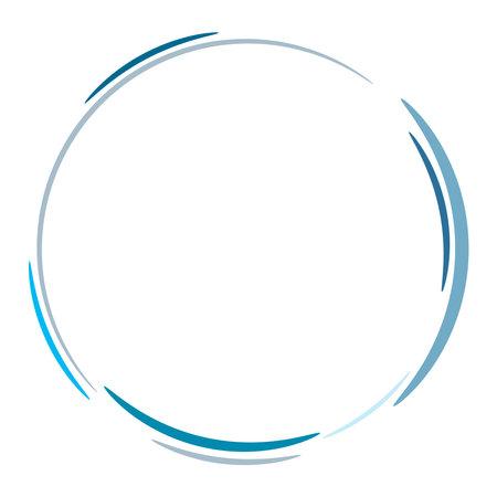Aqua, water blue Smudged, smeared circular stain spot. Ink blot, blotch. Speckle, splat and splatter. Splashing liquid, gel, fluid vector illustration – Stock vector illustration, Clip art graphics
