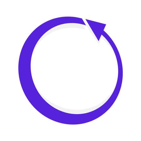 Circular, circle arrow CCW, CW series – Stock illustration, Clip art graphics
