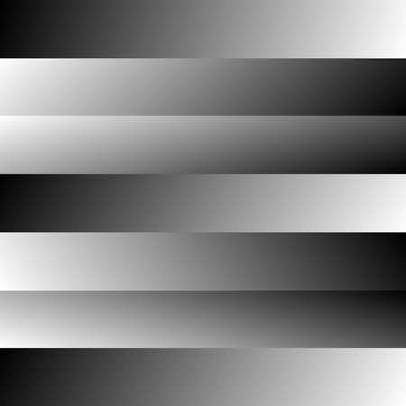 Fading, blurry, gradient horizontal lines, stripes background, pattern design vector – Stock vector illustration, Clip art graphics