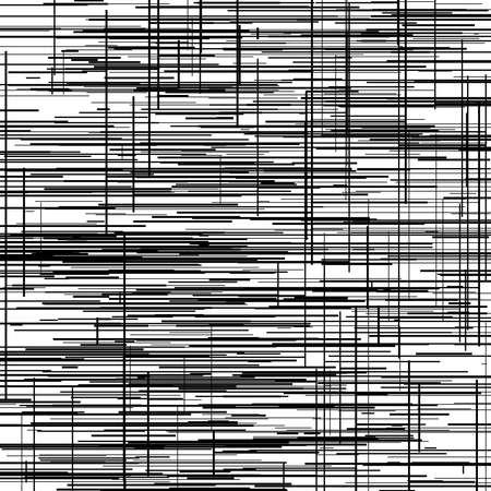 Irregular, random lines harsh texture. Abrasion, sketch, sketchy scribble lines – Stock illustration, Clip art graphics 矢量图片