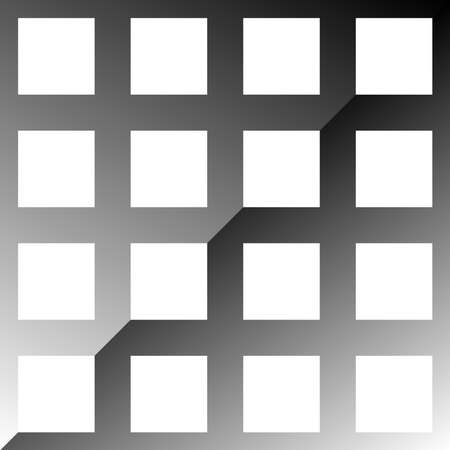 Squares grid, mesh vector design element. Lattice, grate, trellis pattern, background design element. Checkers, chequers vector illustration – Stock vector illustration, Clip art graphics