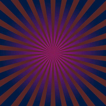 Sunburst, starburst radial, radiating lines colorful square format background, pattern. Sparkle, flare, flash concept graphic Vector Illustration