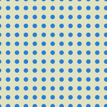 Polkadots, speckle, freckle circles seamless pattern. Halftone, half-tone colorful (duotone) repeatable pattern, vector Vecteurs