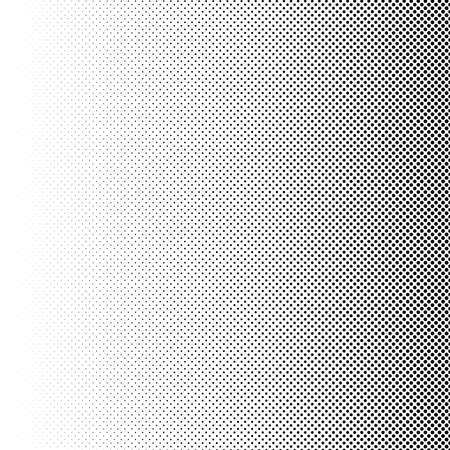 Halftone vector illustration. Geometric half tone design element Çizim
