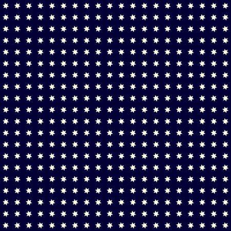 Night sky star repeatable pattern, texture, Starry sky. Vector illustration