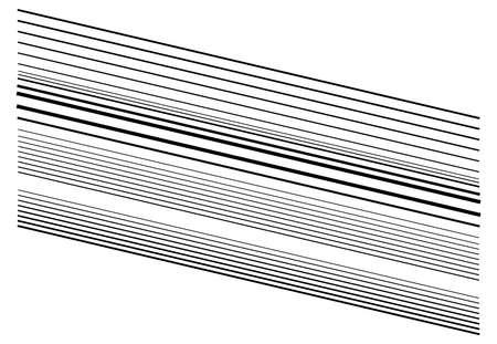 Dynamic diagonal and slanting lines element. oblique, skew and tilted stripes. bursting, radial streaks, strips. speed, trail and zoom lines comic effect Vektorgrafik