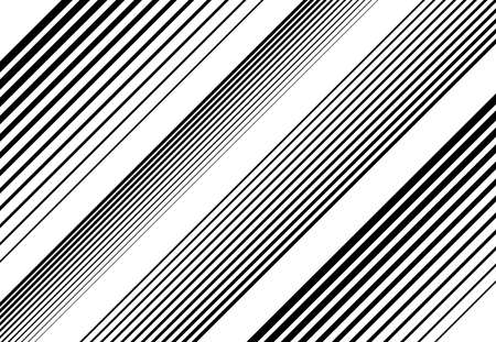 Halftone diagonal, oblique, slanting parallel and random lines,stripes pattern and background.Lines vector illustrations. Streaks, strips, hatching and pinstripes element. Liny, lined, striped vector