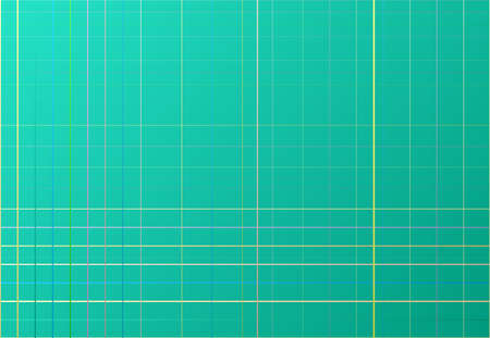Random colored mesh, grid, lattice and grating of intersecting straight lines. Abstract vector background