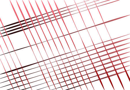 Oblique, diagonal skew and traverse grid, mesh and lattice, grill, trellis illustration with gradient lines