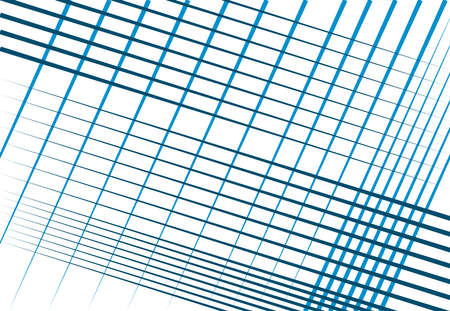 Duotone, monochrome mesh, grid, grill and grating of intersecting straight parallel lines, stripes. Abstract geometric vector illustration, background