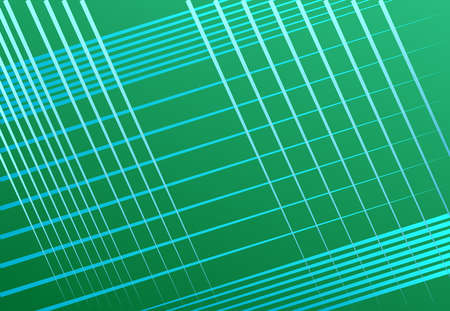 Tricolor oblique, diagona,l skew and traverse grid, mesh or lattice, grill, trellis vector illustration / background