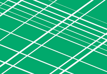 Monochrome colored diagonal, skew, angled and oblique grid, mesh, lattice or grating, grille abstract vector illustration, background