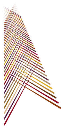 Random lines and stripes grid, mesh abstract reticular, matrix, array colorful pattern, texture and design element