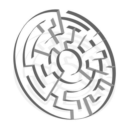 Solvable 3D Mazes, Labyrinths. Puzzle, brain teaser game