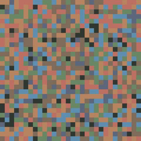 Pixellation, Random squares, Blocks random color pattern, background and texture