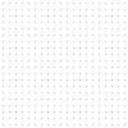 Repeatable halftone dots, dotted polkadots pattern. Freckle, stipple, spots texture, background, vector (Seamlessly repeatable) Vector Illustration