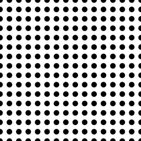 Repeatable halftone dots, dotted polkadots pattern. Freckle, stipple, spots texture, background, vector (Seamlessly repeatable)