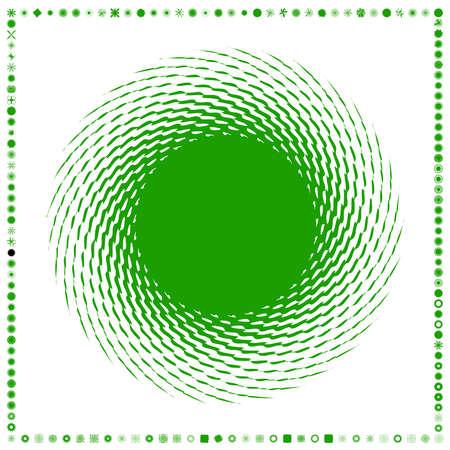 Green, organic-angular geometric generative art shapes, abstract vector illustration