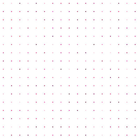 Circles, dots, polka-dots seamlessly repeatable colorful pattern, background. Speckle, stipple, stippling illustration. Vector Vector Illustration