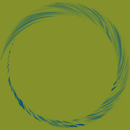 Circular Spiral, swirl, twirl design element. Concentric, radial and radiating burst of lines with rotation, gyre and curved distortion