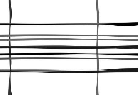 Melting, smudge paint effect vector illustration. Paint lines, paint stripes. FLuid, gel element
