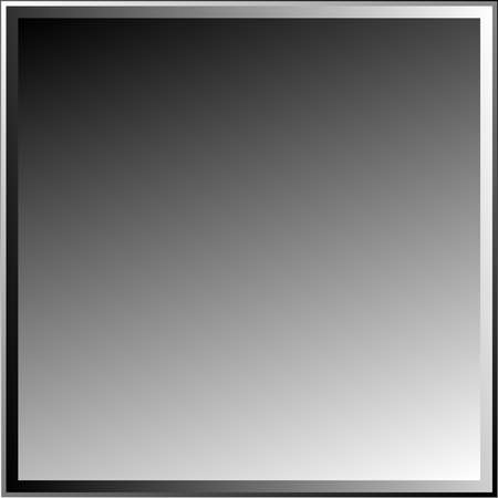 Overlapping squares, Blocks vector illustration. Grayscale squares