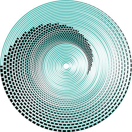 Overlaying abstract Spiral, Swirl, Twirl vector. Volute, helix, cochlear vertigo circular, geometric illustration. Abstract circle Vektoros illusztráció