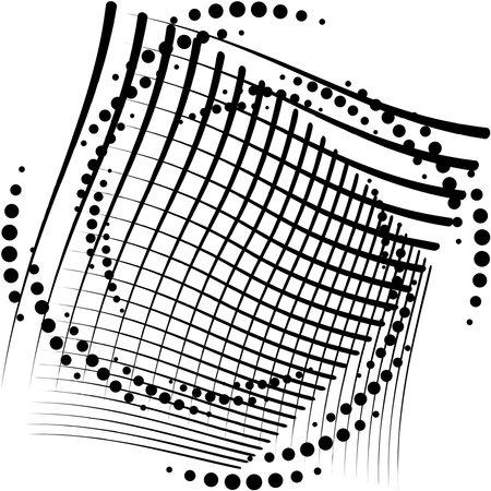 Overlaying abstract Spiral, Swirl, Twirl vector. Volute, helix, cochlear vertigo circular, geometric illustration. Abstract circle Vecteurs