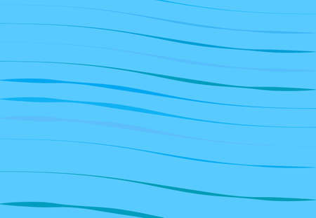Abstract wavy, waving, billowy and undulating lines, stripes. Squiggly, squiggle lines with twist effect. Abstract colorful BLUE pattern, background, backdrop and texture Vecteurs