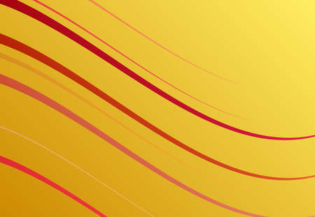 Colorful wavy, waving and undulating, billowy diagonal, olbique and slanting, skew, tilt lines, stripes abstract design element. Colorful background, pattern and texture Ilustración de vector