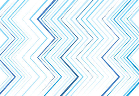 Corrugated, wrinkled, wavy, zig-zag, criss-cross lines abstract colorful BLUE geometric pattern, background, texture or backdrop