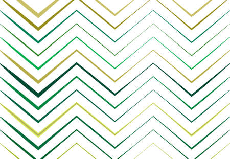 Corrugated, wrinkled, wavy, zig-zag, criss-cross lines abstract colorful GREEN geometric pattern, background, texture or backdrop