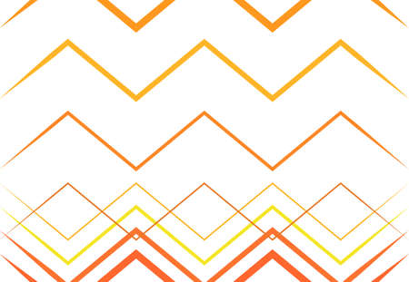 Corrugated, wrinkled, wavy, zig-zag, criss-cross lines abstract colorful RED, ORANGE geometric pattern, background, texture or backdrop