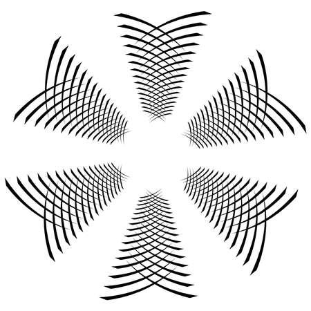 Spiral, twist radial swirl, twirl circular vector illustration. Revolve, whirlpool effect