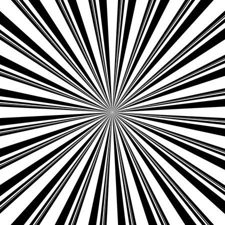Randomness irregular radiating stripes, lines. Beams, rays. Irregular starburst, sunburst backdrop