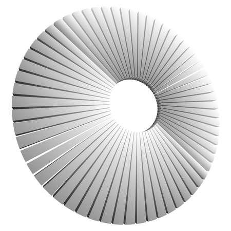 Pie chart, pie graph, diagram vector illustration. A clipart for infographics, visualization, infographic theme Ilustración de vector
