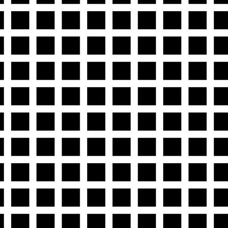 Seamlessly, repeatable squares halftone geometric background pattern and texture vector illustration
