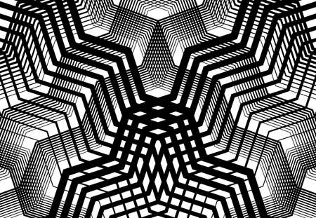 Geometric structure angular, angled lines, stripes grid, mesh and trellis, grating pattern, texture and background