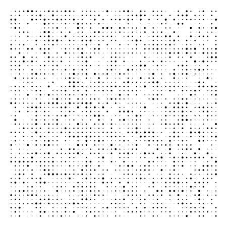 Halftone dots, dotted pattern. Pointillist, pointillism vector illustration. Speckles textire
