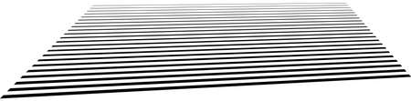 Parallel straight lines, stripes in perspective, 3d - Stock illustration, Clip art graphics