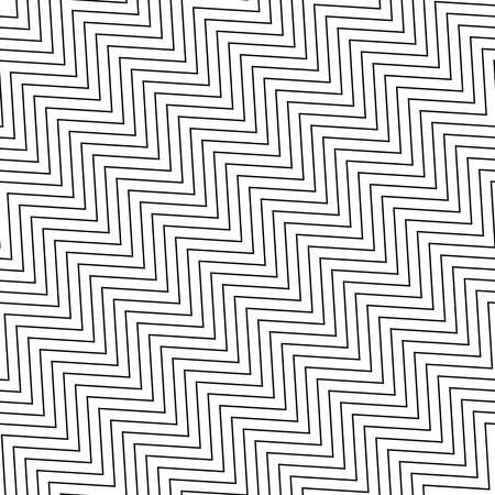 Wavy, waving, Criss-cross, zig-zag Lines Seamless Pattern, background Vector Illustration - Stock vector illustration, Clip art graphics Ilustração Vetorial