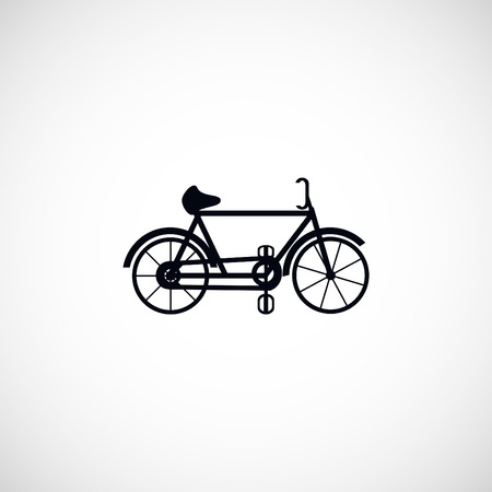 spoke: bicycle vector icon, flat design best vector icon Illustration