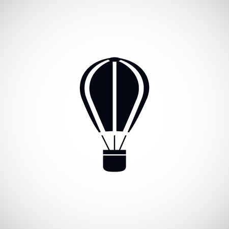 bailout: parachute icon, flat design best vector icon