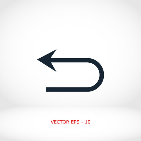 res: Arrov Vector Icon, flat design best vector icon