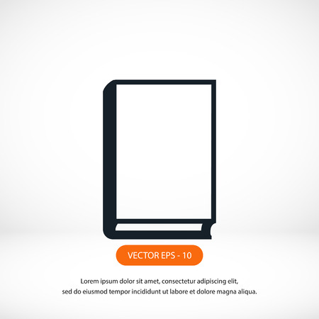 best book: book vector icons,flat design best vector icon