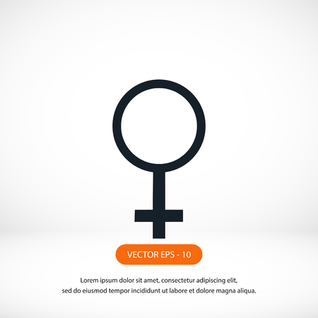 analogy: planet symbol vector icon, flat design best vector icon